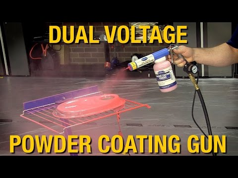 Powder Coat at Home! Dual Voltage Powder Coating Gun from Eastwood
