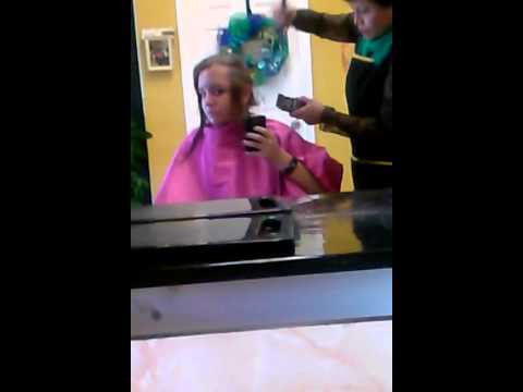 Shaving one side of my head
