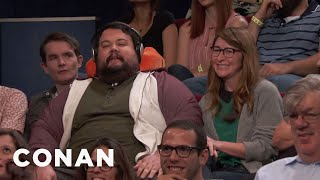This Couple Met On An Airplane  - CONAN on TBS