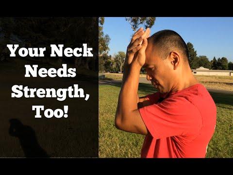 Neck Strengthening Exercises - Deep Neck Flexor Muscles