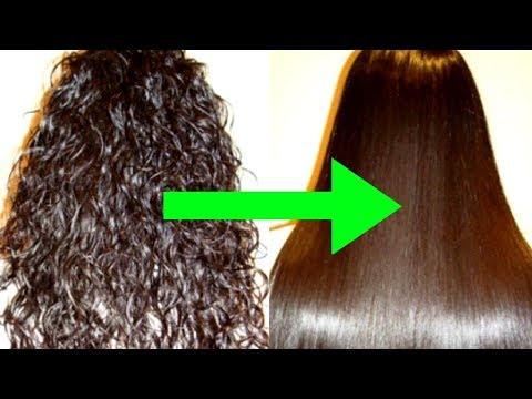 5 MIN में Curly Hairs को Straight करने का आसान तरीका