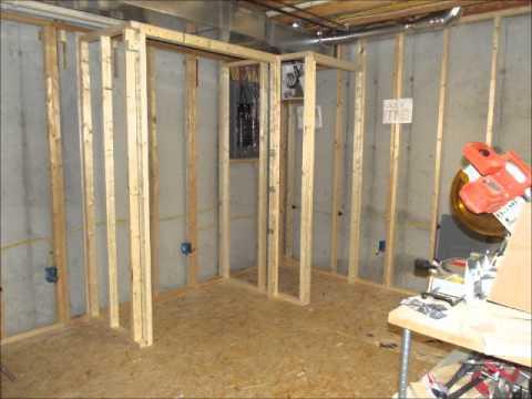 Building the Basement Closet Part 2