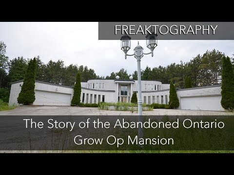 The Abandoned Grow Op Mansion | Drug Dealer Mansion