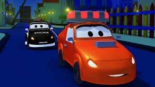 La Super Patrulla : La sirena de Amber ha sido robada en Auto City | dibujos animados para niños