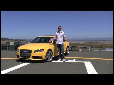 2010 Audi S4 review and Infineon Raceway lap tour