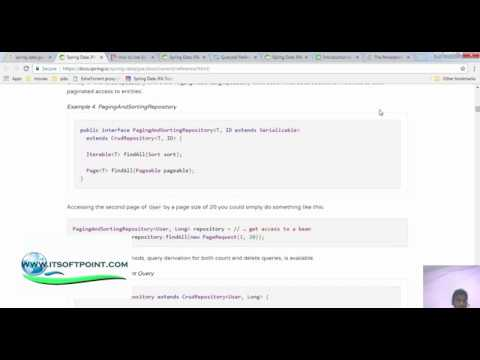 spring data jpa part1 - introduction