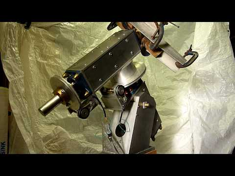 Large Telescope mounting drive test.