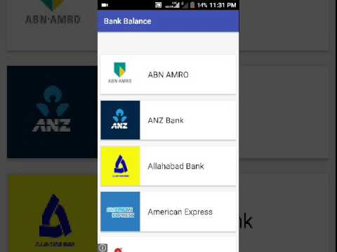 All bank account details - Safety way to check account balance of any bank account
