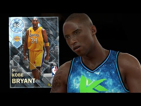 DIAMOND KOBE BRYANT 98 OVERALL GAMEPLAY! BEST DIAMOND! (NBA 2K18 MYTEAM)