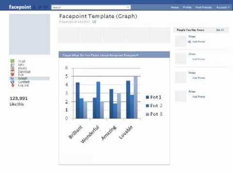 Facebook Powerpoint Template (Facepoint)