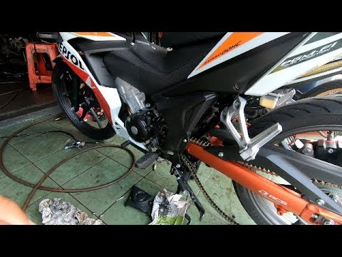 HONDA RS150R MODIFIED - FIRST STAGE