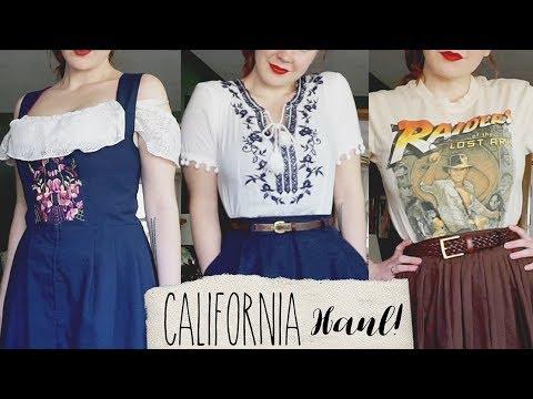 Vintage & Disney Goodies!    California/Disneyland Haul
