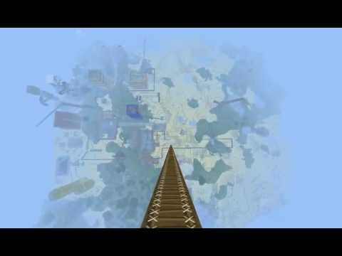 Minecraft's Highest Diving Board
