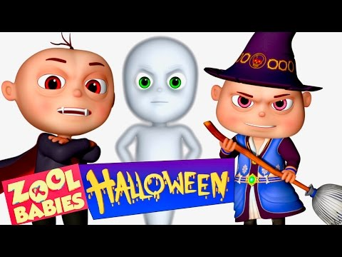 Zool Babies Halloween Show | Zool Babies Series | Cartoon Animation For Children