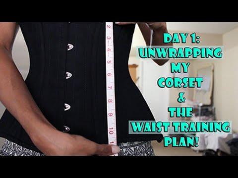 Unwrapping & Seasoning My Corset (Waist Training)