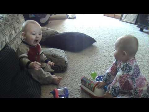 Mason & Reese - Babies Talking!