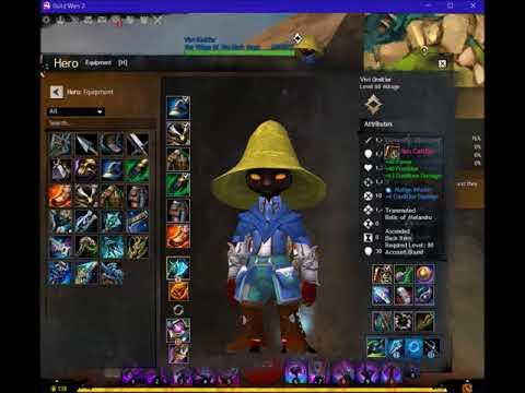 How To Create: Black Mage Vivi Orientier In Guild Wars 2