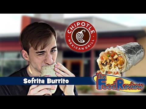 Chipotle Sofrita Burrito-The Food Review-ep.102