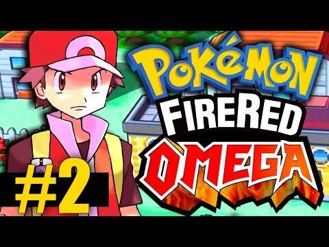 Pokemon Fire Red Omega - Part 2 - Viridian Forest & SURPRISE Pokemon Appearances!