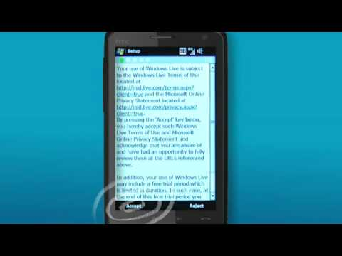 How to - Set up webmail on your HTC Touch HD connected to Telstra