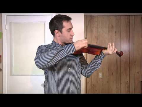 How long does it take to learn the violin? Day 1