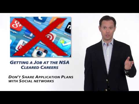 How to Get a Job at the NSA
