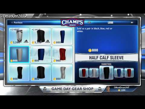 PS4 NBA 2K14 - All/New Accessories and Tattoo Shop! Playstation 4 Gameplay HD