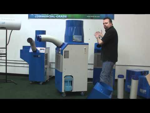 Ideal Air Portable AC Installation