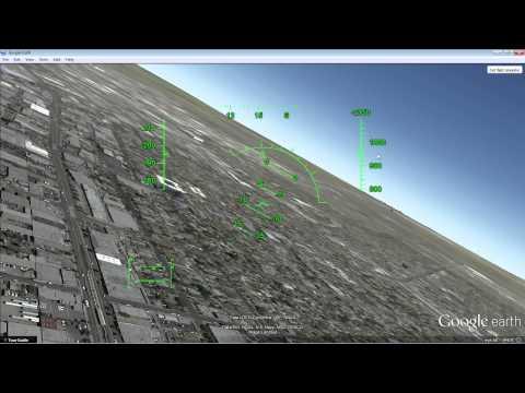 Introduction to Google Earth's Flight Simulator HUD