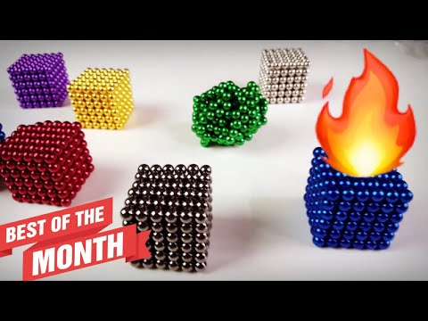 Unboxing Tons of FREE Magnets- Big & Small Balls/Cubes + 3 Giveaways!
