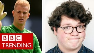 The other Joe Hart suffers fans rage - BBC Trending