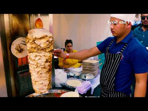 Shawarma | Lebanese Chicken Roll