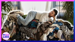 Disorganized Fashionista Gets His Closet Professionally Organized