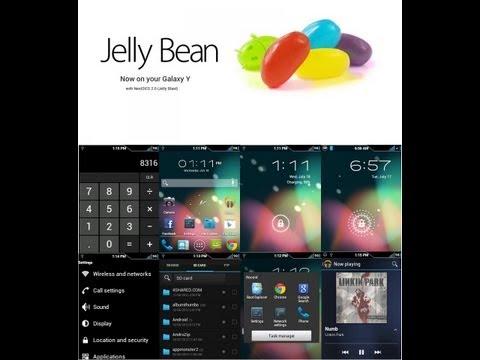 jelly bean for galaxy y
