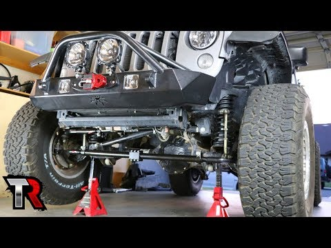 Jeep High Steer Linkage Install – Steer Smarts Yeti XD