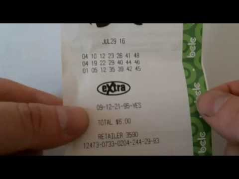Canadian Lotto Max - 60 million - July 29, 2016