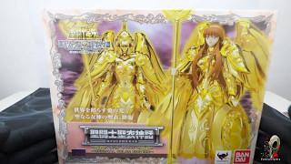 Saint Seiya - God Cloth Athena OCE Tamashii Exclusive - Unboxing the cardbox.