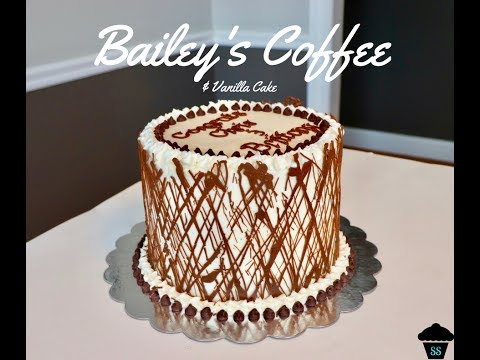 Bailey's Coffee & Vanilla Cake