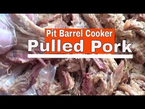 Pulled Pork | Pit Barrel Cooker
