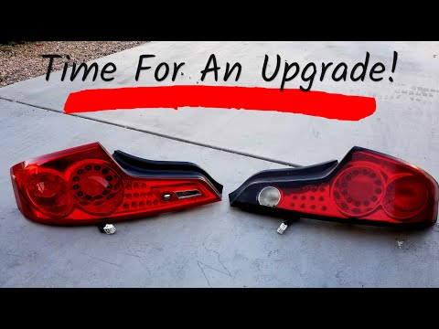 Project G35 Gets New Style Tail Lights! How To Remove & Install Infiniti G35 Tail Lights