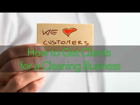 How to Get Clients for a Cleaning Business featuring Lisanne Welch
