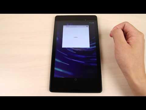 Special feature of ASUS Google Nexus 7 2013: Widget on Lock Screen