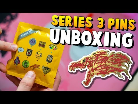 CS:GO - 25x Series 3 Pin Unboxing