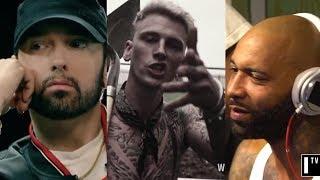 Eminem Responds To Machine Gun Kelly & Joe Budden, Reveals He Has More Unreleased Diss Tracks
