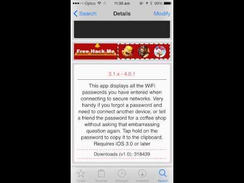 how to remember wifi password wifipass cydia tweak