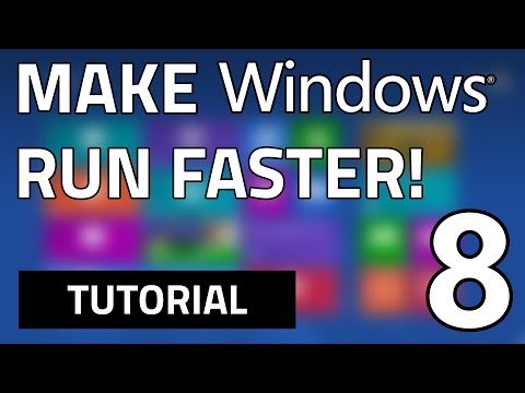 How To Make Your Windows 8 Faster | In Just 6 Steps | 100% FREE & SAFE