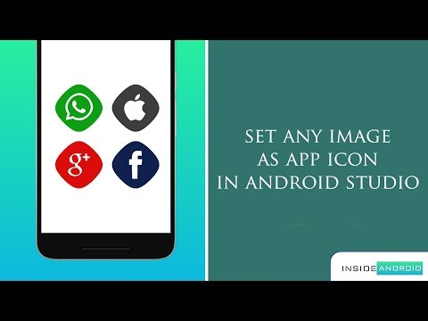 Set any image as app icon in Android Studio