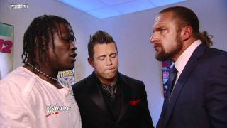 Raw - WWE COO Triple H punishes The Miz & R-Truth for their actions