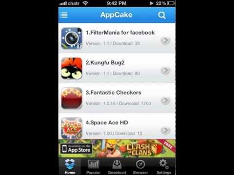 Installous Alternative AppCake ( Update 02-01-2013 )