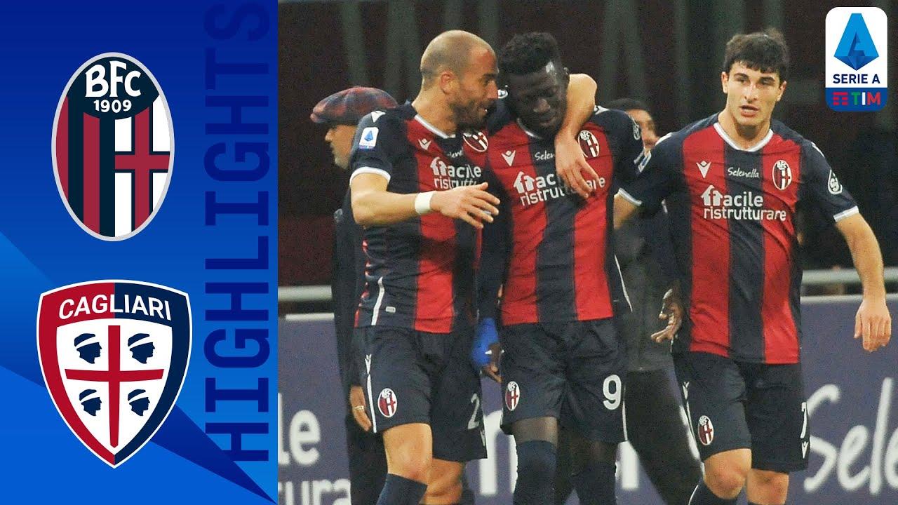 Bologna 3-2 Cagliari | Barrow Scores to Complete Bologna Comeback! | Serie A TIM
